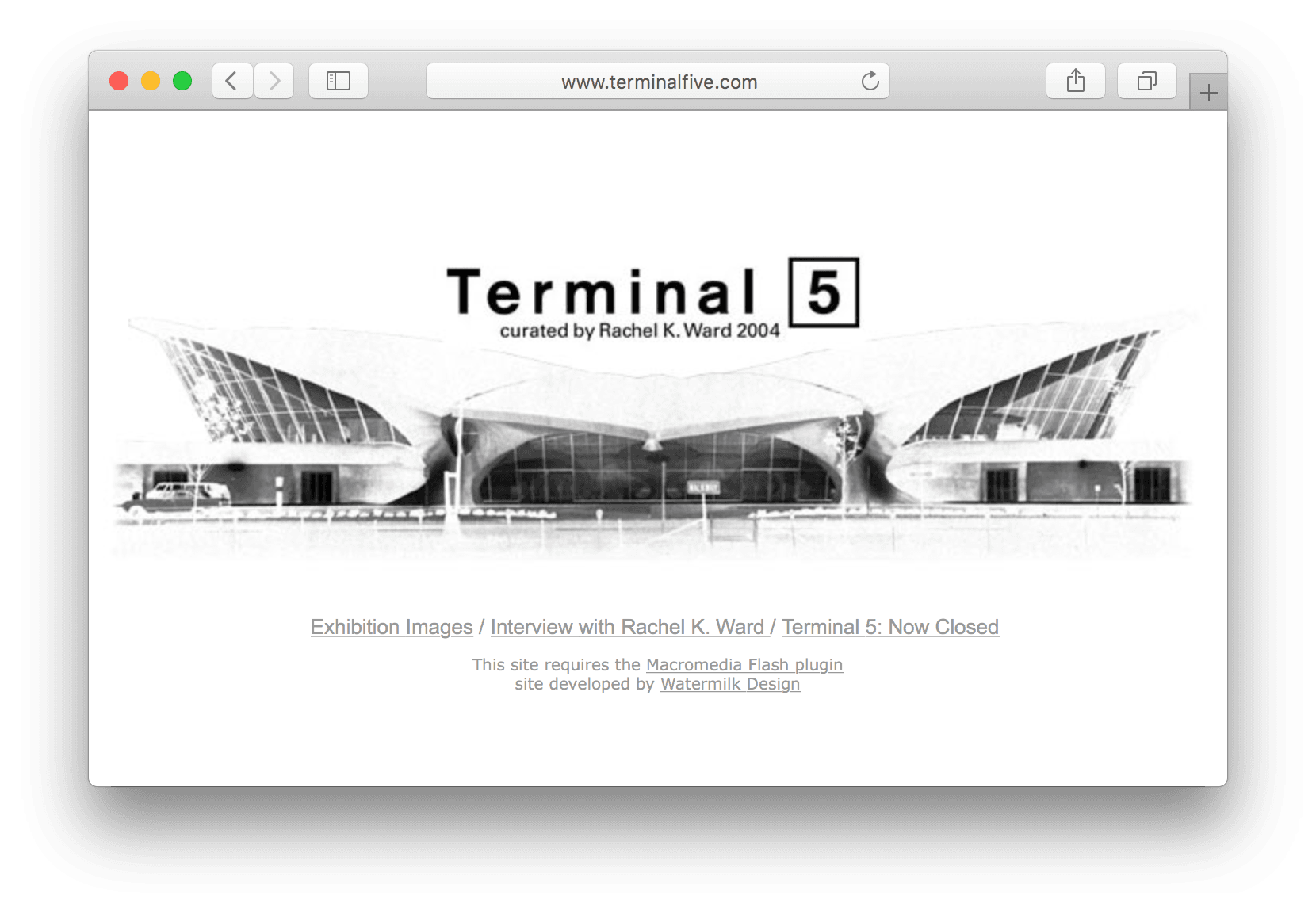 TerminalFive.com screenshot